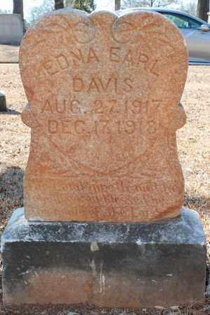 DAVIS, EDNA EARL - Jefferson County, Alabama   EDNA EARL DAVIS - Alabama Gravestone Photos