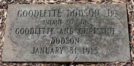 DODSON, JR, GOODLETTE - Jefferson County, Alabama | GOODLETTE DODSON, JR - Alabama Gravestone Photos