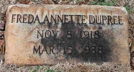 DUPREE, FREDA ANNETTE - Jefferson County, Alabama   FREDA ANNETTE DUPREE - Alabama Gravestone Photos