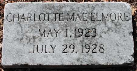 ELMORE, CHARLOTTE MAE - Jefferson County, Alabama | CHARLOTTE MAE ELMORE - Alabama Gravestone Photos