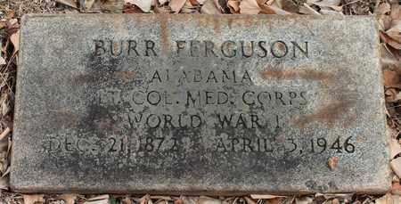 FERGUSON (VETERAN WWI), BURR - Jefferson County, Alabama | BURR FERGUSON (VETERAN WWI) - Alabama Gravestone Photos