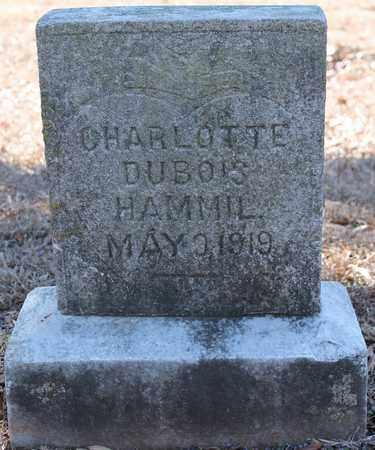 HAMMIL, CHARLOTTE DUBOIS - Jefferson County, Alabama | CHARLOTTE DUBOIS HAMMIL - Alabama Gravestone Photos