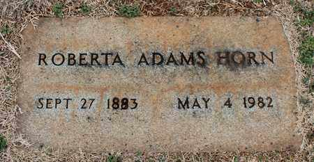ADAMS HORN, ROBERTA - Jefferson County, Alabama | ROBERTA ADAMS HORN - Alabama Gravestone Photos
