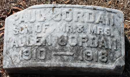 JORDAN, PAUL - Jefferson County, Alabama | PAUL JORDAN - Alabama Gravestone Photos