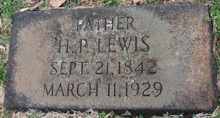LEWIS, H P - Jefferson County, Alabama | H P LEWIS - Alabama Gravestone Photos