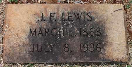 LEWIS, J F - Jefferson County, Alabama   J F LEWIS - Alabama Gravestone Photos