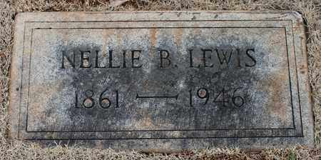LEWIS, NELLIE B - Jefferson County, Alabama | NELLIE B LEWIS - Alabama Gravestone Photos