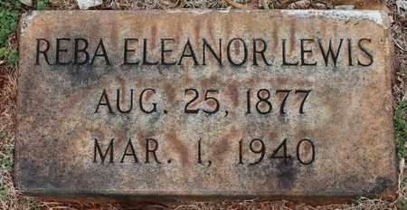 LEWIS, REBA ELEANOR - Jefferson County, Alabama   REBA ELEANOR LEWIS - Alabama Gravestone Photos