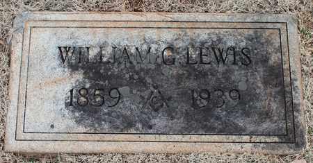 LEWIS, WILLIAM G - Jefferson County, Alabama | WILLIAM G LEWIS - Alabama Gravestone Photos