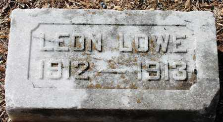 LOWE, LEON - Jefferson County, Alabama | LEON LOWE - Alabama Gravestone Photos
