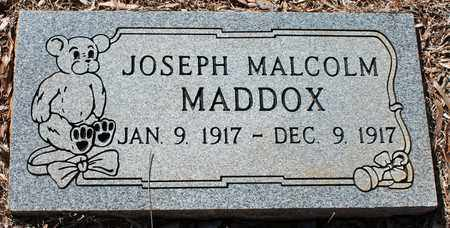MADDOX, JOSEPH MALCOLM - Jefferson County, Alabama | JOSEPH MALCOLM MADDOX - Alabama Gravestone Photos