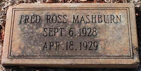 MASHBURN, FRED ROSS - Jefferson County, Alabama | FRED ROSS MASHBURN - Alabama Gravestone Photos