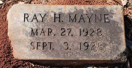 MAYNE, RAY H - Jefferson County, Alabama | RAY H MAYNE - Alabama Gravestone Photos