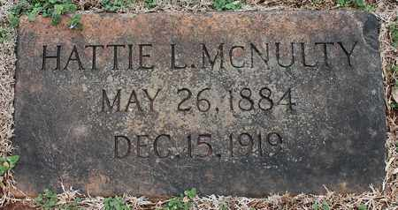 MCNULTY, HATTIE L - Jefferson County, Alabama   HATTIE L MCNULTY - Alabama Gravestone Photos
