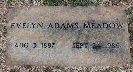 ADAMS MEADOW, EVELYN - Jefferson County, Alabama   EVELYN ADAMS MEADOW - Alabama Gravestone Photos