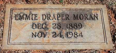 DRAPER MORAN, EMMIE - Jefferson County, Alabama   EMMIE DRAPER MORAN - Alabama Gravestone Photos