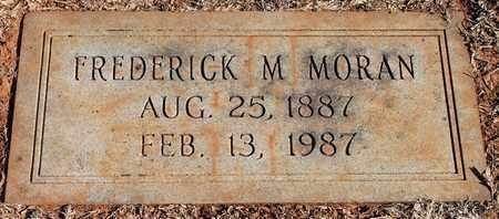 MORAN, FREDERICK M - Jefferson County, Alabama   FREDERICK M MORAN - Alabama Gravestone Photos