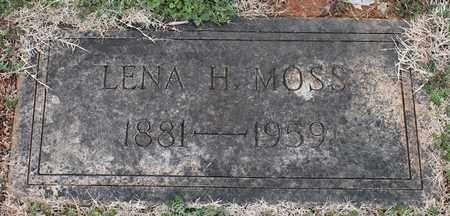 MOSS, LENA H - Jefferson County, Alabama | LENA H MOSS - Alabama Gravestone Photos