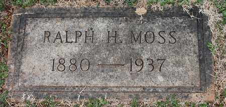 MOSS, RALPH H - Jefferson County, Alabama | RALPH H MOSS - Alabama Gravestone Photos