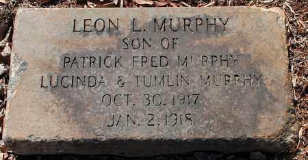 MURPHY, LEON L - Jefferson County, Alabama   LEON L MURPHY - Alabama Gravestone Photos