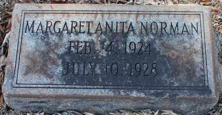 NORMAN, MARGARET ANITA - Jefferson County, Alabama   MARGARET ANITA NORMAN - Alabama Gravestone Photos