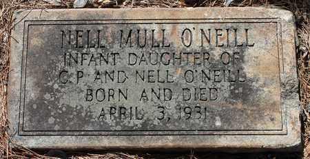 O'NEILL, NELL MULL - Jefferson County, Alabama | NELL MULL O'NEILL - Alabama Gravestone Photos