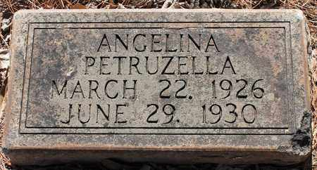 PETRUZELLA, ANGELINA - Jefferson County, Alabama | ANGELINA PETRUZELLA - Alabama Gravestone Photos