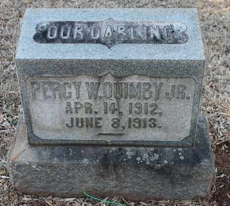 QUIMBY, JR, PERCY W - Jefferson County, Alabama | PERCY W QUIMBY, JR - Alabama Gravestone Photos