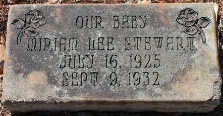 STEWART, MIRIAM LEE - Jefferson County, Alabama | MIRIAM LEE STEWART - Alabama Gravestone Photos