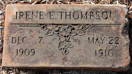 THOMPSON, IRENE E - Jefferson County, Alabama | IRENE E THOMPSON - Alabama Gravestone Photos