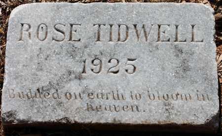 TIDWELL, ROSE - Jefferson County, Alabama | ROSE TIDWELL - Alabama Gravestone Photos