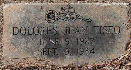 TISEO, DOLORES JEAN - Jefferson County, Alabama | DOLORES JEAN TISEO - Alabama Gravestone Photos
