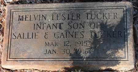 TUCKER, MELVIN LESTER - Jefferson County, Alabama   MELVIN LESTER TUCKER - Alabama Gravestone Photos