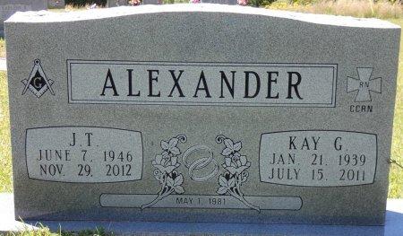 ALEXANDER, JERALD T - Lamar County, Alabama   JERALD T ALEXANDER - Alabama Gravestone Photos