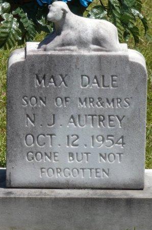 AUTREY, MAX DALE - Lamar County, Alabama | MAX DALE AUTREY - Alabama Gravestone Photos
