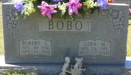 TERRY BOBO, GERA MAE - Lamar County, Alabama | GERA MAE TERRY BOBO - Alabama Gravestone Photos