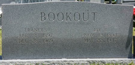 KINARD BOOKOUT, NELIA FRANCES - Lamar County, Alabama | NELIA FRANCES KINARD BOOKOUT - Alabama Gravestone Photos
