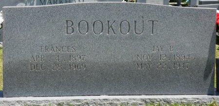 BOOKOUT, JAY B - Lamar County, Alabama | JAY B BOOKOUT - Alabama Gravestone Photos