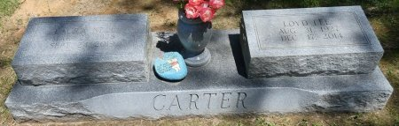 CARTER, LAURA NELL - Lamar County, Alabama | LAURA NELL CARTER - Alabama Gravestone Photos
