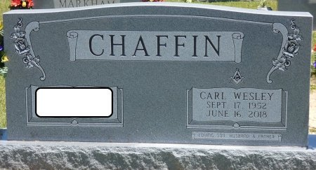 CHAFFIN, CARL WESLEY - Lamar County, Alabama | CARL WESLEY CHAFFIN - Alabama Gravestone Photos