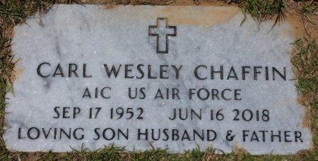 CHAFFIN (VETERAN), CARL WESLEY (NEW) - Lamar County, Alabama | CARL WESLEY (NEW) CHAFFIN (VETERAN) - Alabama Gravestone Photos