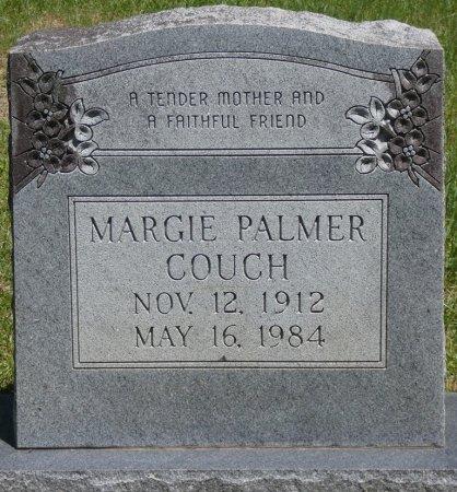 PALMER COUCH, MARGIE - Lamar County, Alabama | MARGIE PALMER COUCH - Alabama Gravestone Photos