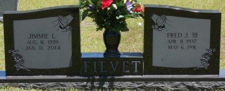 FIEVET, FRED J - Lamar County, Alabama   FRED J FIEVET - Alabama Gravestone Photos