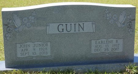 GUIN, EARLENE - Lamar County, Alabama | EARLENE GUIN - Alabama Gravestone Photos
