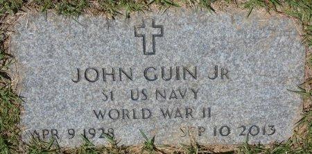 "GUIN, JR (VETERAN WWII), JOHN ""JUNIOR"" (NEW) - Lamar County, Alabama | JOHN ""JUNIOR"" (NEW) GUIN, JR (VETERAN WWII) - Alabama Gravestone Photos"