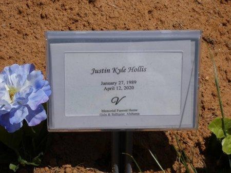 HOLLIS, JUSTIN KYLE - Lamar County, Alabama   JUSTIN KYLE HOLLIS - Alabama Gravestone Photos