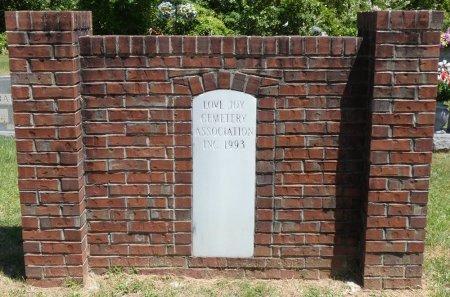 *LOVE JOY, CEMETERY - Lamar County, Alabama   CEMETERY *LOVE JOY - Alabama Gravestone Photos