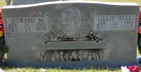 MARKHAM, HOWARD M - Lamar County, Alabama | HOWARD M MARKHAM - Alabama Gravestone Photos