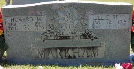 MARKHAM, LILLIE BELL - Lamar County, Alabama | LILLIE BELL MARKHAM - Alabama Gravestone Photos
