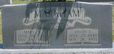MARKHAM, DAVID L - Lamar County, Alabama | DAVID L MARKHAM - Alabama Gravestone Photos